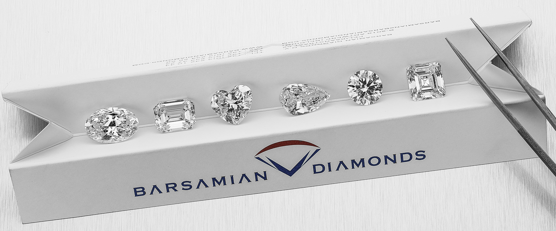 Barsamian Diamonds Logo & Diamonds
