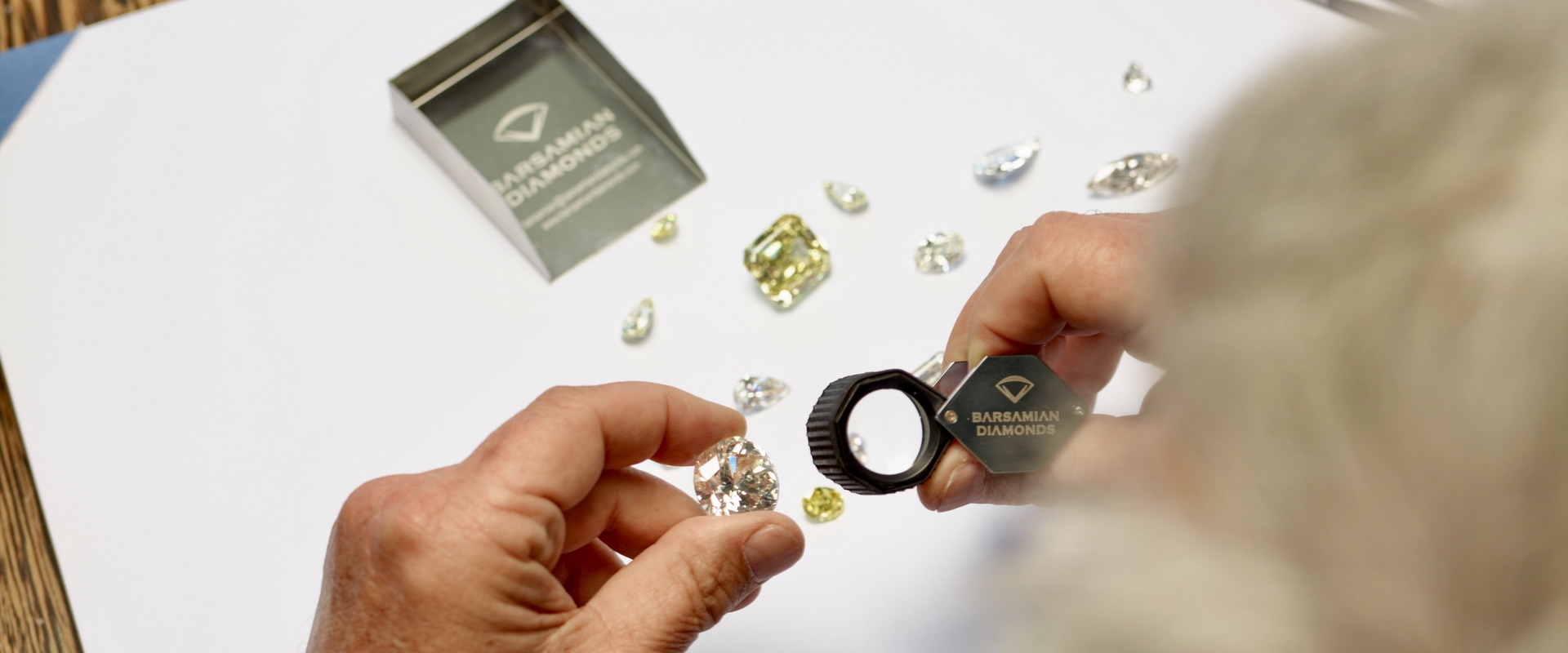 Loupe Exceptional Diamond Sorting