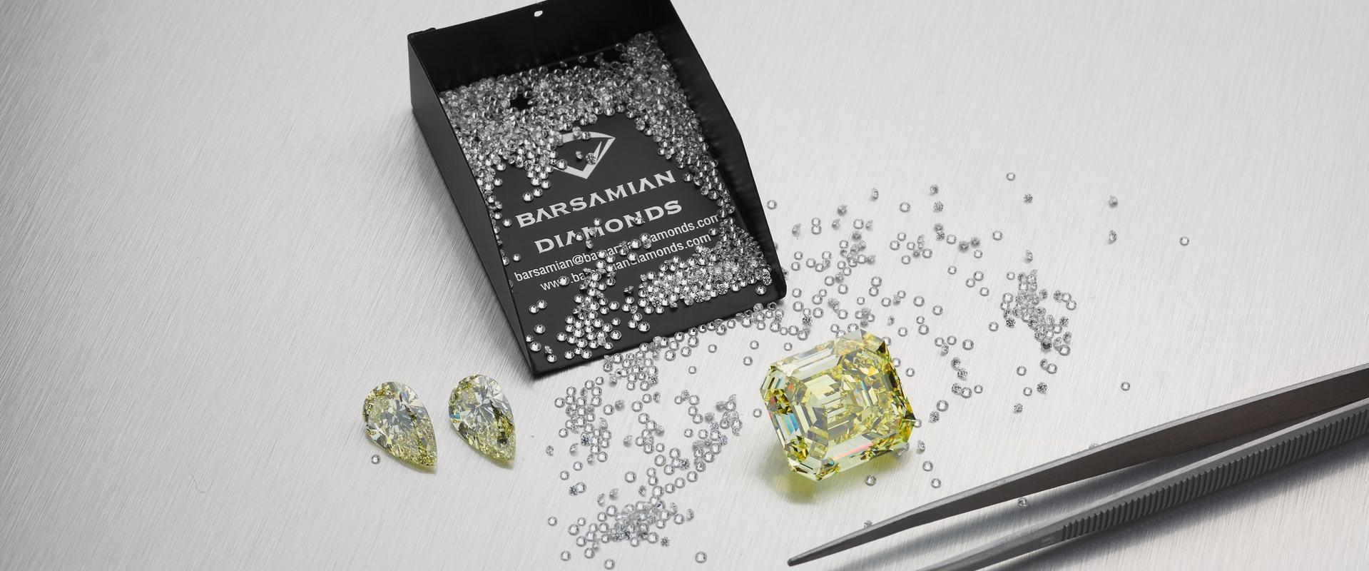 Fancy Mixed Diamonds